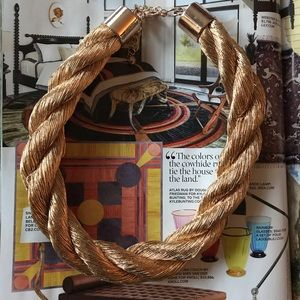 H&M Rose Gold Rope Necklace